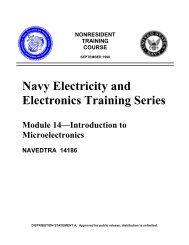 Navy Electricity and Electronics Training Series - Historic Naval ...