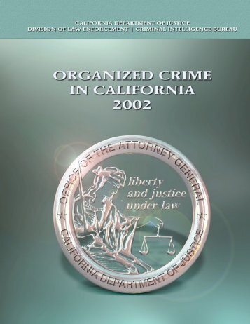 2002 Organized Crime in California - Ossh.com