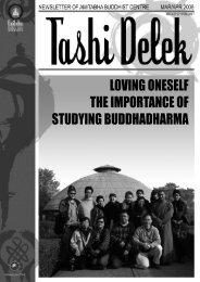Loving Oneself - Amitabha Buddhist Centre