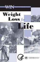 Weight Loss for Life - San Juan College