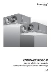 KOMPAKT ReGO P - Komfovent