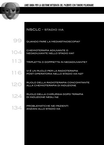 NSCLC - stadio iiia - Associazione Italiana Oncologia Toracica