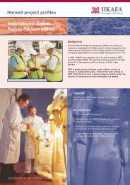 International Safety Rating System (ISRS)