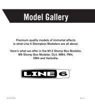 The Line 6 Stompbox Model Gallery