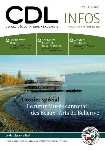 Bulletin no. 2/08 – Juin 2008 - Cercle Démocratique Lausanne