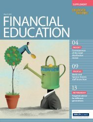 Financial Education Report 2013 - Employee Benefits