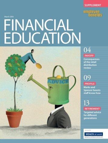 Financial Education Report 2013 - Employee Benefits