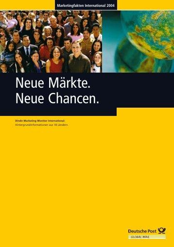 Deutsche Post Global Mail: Marketingfakten International 2004