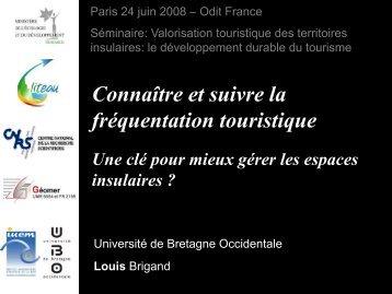 Connaître et suivre la fréquentation touristique - Atout France
