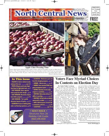 November 2010 - The North Central News