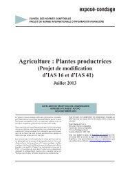 Agriculture : Plantes productrices - Normes d'information financière ...