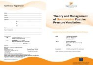 Theory and Management of Positive Pressure Ventilation Non ...
