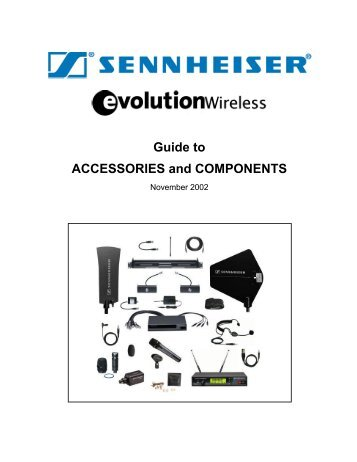 Guide to Evolution Wireless Accessories and Components