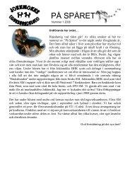 På spåret #01 2008 - Jokkmokks BHK