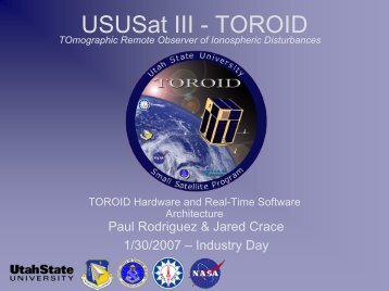 TOROID Hardware & Real-time Software Architecture