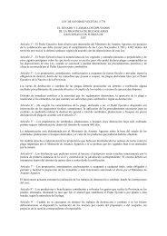 Ley de Sanidad Vegetal 5.770 - Ministerio de Asuntos Agrarios