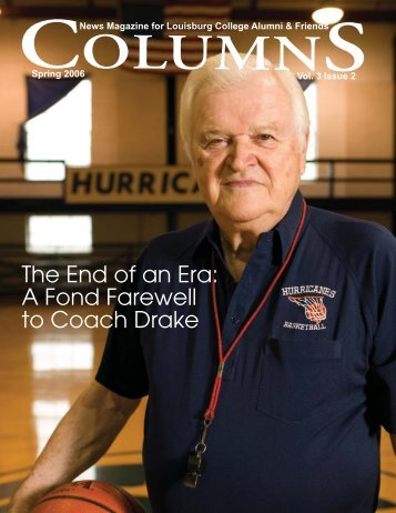 The End of an Era - Louisburg College