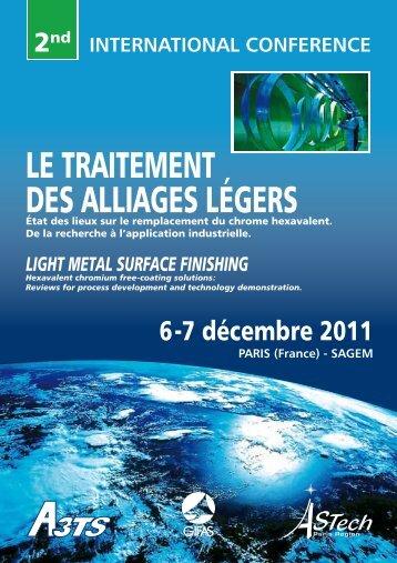 light metal surface finishing - A3TS