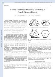 Inverse and Direct Dynamic Modeling of Gough-Stewart Robots