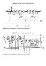 VERSO-S - vėdinimo įrenginių funkcinė schema ... - Komfovent