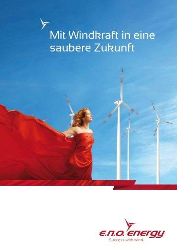 Anleihebroschüre - e.n.o. energy GmbH