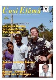 vie apua Haitiin ja tekee Ermo TV-ohjelmia - Uusi Elämä