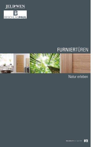 Furniertüren - Beschlag Paul GmbH