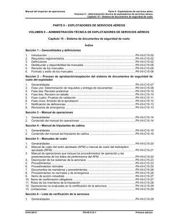 Sistemas de documentos de seguridad de vuelo - ICAO