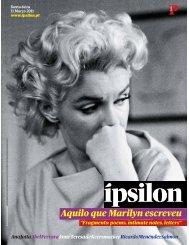 Aquilo que Marilyn escreveu - Fonoteca Municipal de Lisboa