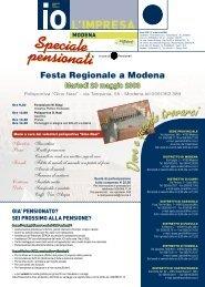 GIORNALINO SPECIALE PENSIONATI.pdf - CNA Emilia Romagna