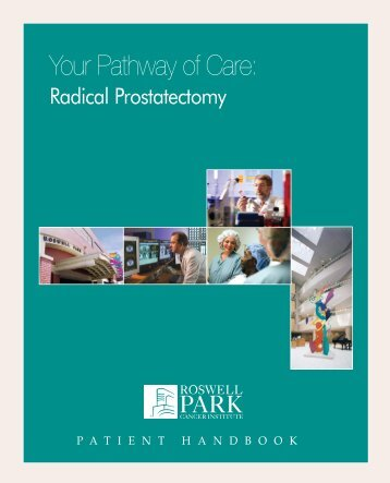 Your Pathway of Care: - Roswell Park Cancer Institute