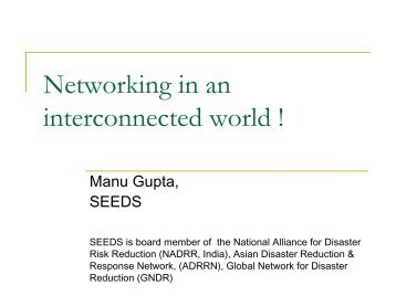 Learning from NGO Network - auedm