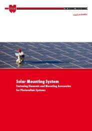 Solar Mounting System - Wurth