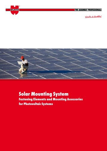 The australian solar mounting systems guide sunlock solar mounting system wurth sciox Image collections