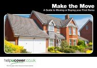 A Guide to Moving or Buying your First Home - helpucover