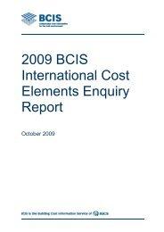 Australia Report - Building Cost Information Service