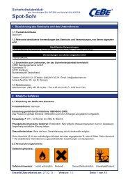 Spot-Solv - CEBE Reinigungschemie GmbH