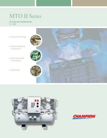 MTO II Series - McGuire Air Compressors, Inc