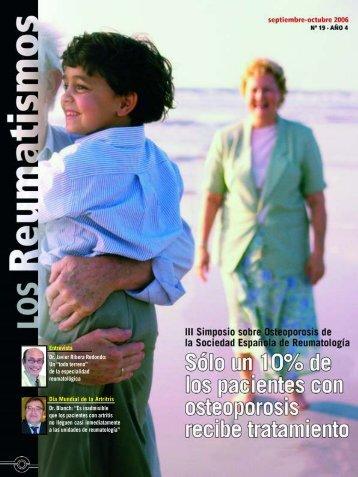 EL DR. Javier Rivera Redondo - Sociedad Española de Reumatología