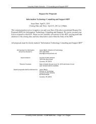 Request for Proposals Information Technology Consulting and ...