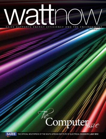 download a PDF of the full July 2012 issue - Watt Now Magazine