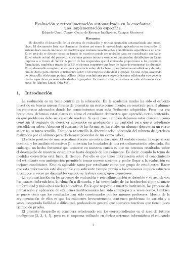 Uresti Charre, E. - Homepages