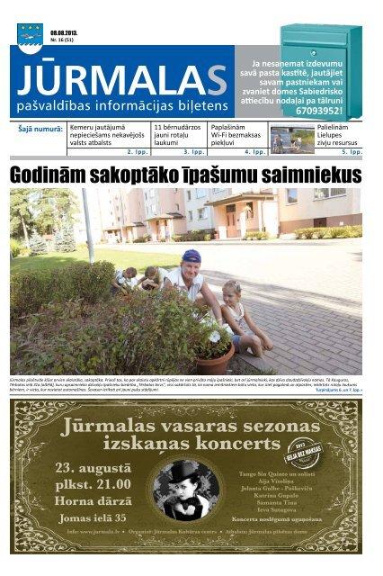08 - Jūrmalas pilsētas pašvaldība