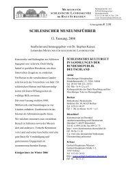 schlesischer museumsführer - Haus  Schlesien