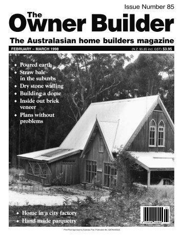 TOB 85-90.indd - The Owner Builder