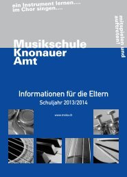 Musikschule Knonauer Amt
