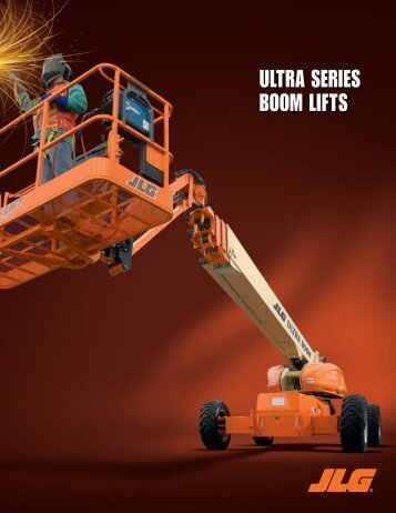 ULTRA SERIES BOOM LIFTS - JLG