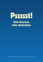 Low Noise Technology brochure - German