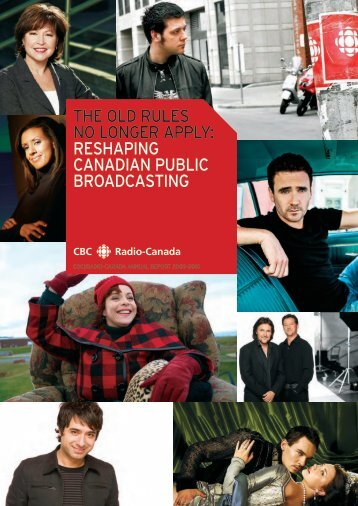 the old rules no longer apply: reshaping canadian public broadcasting