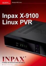 TEST REPORT Receptor HDTV Linux - TELE-satellite International ...